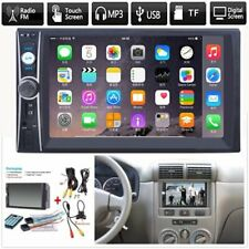 Bluetooth FM Player Stereo Radio Car 7'' HD MP5 Touch Screen w/ Free Rear Camera