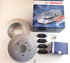 BOSCH PASTILLAS FRENO + discos de freno eje trasero CLASE A W169 Clase B W245