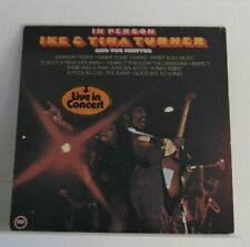 Ike & Tina Turner & The Ikettes – In Person