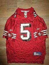 Jeff Garcia #5 San Francisco 49ers NFL Reebok Jersey Youth LG 14-16 children