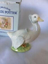 "Royal Albert-Beatrix Potter-sono beccah Puddle-Duck ""FIGURINA"