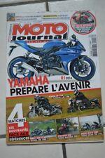 MOTO JOURNAL 2040 HONDA CB 1100 CBF YAMAHA XJR 1300 BMW F SUZUKI GSX-R 750 1000