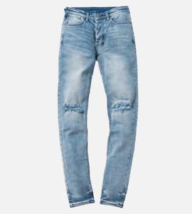 New Mens Ksubi Van Winkle No Drama Ripped Skinny Jeans RRP $379.00 (32)