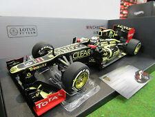 F1 LOTUS RENAULT E20 RAIKKONEN #9 GP ABU DHABI 2012 o 1/18 MINICHAMPS 110120209