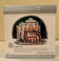 Department 56, The Majestic Theatre, Christmas in the City, Retired, 56.58913