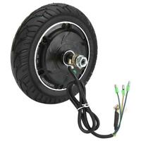 8inch Electric Scooter Brushless Wheel Hub Motor with Solid Tyre Motor Vehicle