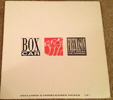"BOXCAR Dubsect Freemason Arista Nettwerk 1989 12"" USA 5 tracks 19855"