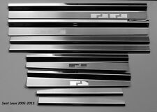 SEAT LEON 1P  2005-2012  Einstiegsleisten aus Edelstahl  8Stück  AF