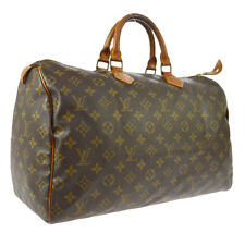 LOUIS VUITTON SPEEDY 40 HAND BAG PURSE MONOGRAM CANVAS M41522 A51082