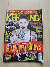 KERRANG 1516 Black Veil Brides Paramore Courtney Love Black Stone Cherry 10/5/14