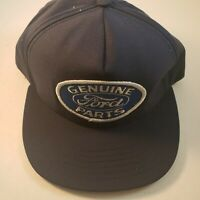 Ford Genuine Parts Vintage Trucker Style Hat Navy New Made In USA
