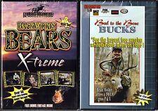 Backwoods Bears X-treme & Bad To The Bone Bucks Vol. 1 - 2 DVDs
