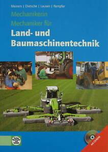 Mechanikerin und Mechaniker für Land- und Baumaschinentechnik + CD (2009, Gebund
