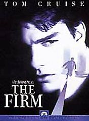 The Firm DVD Tom Cruise Crime Thriller Movie JOHN GRISHAM Book Ships FREE