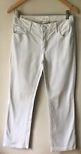 "Street One W30"" L30"" White Cotton Jeans <CH64"