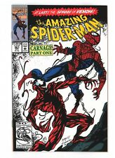 Amazing Spider-Man 361, 362, 363. 1st Appearance of Carnage. See Scans
