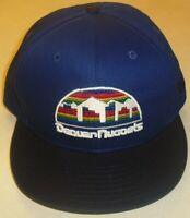 Denver Nuggets New Era Snapback hat Back logo Classic logo Nba New