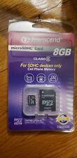 Transcend SanDisk microSDHC 8GB MicroSDHC Card - TS8GUSDHC10 cell phone camera