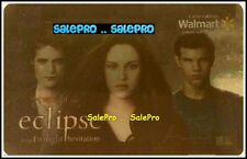 WALMART THE TWILIGHT SAGA ECLIPSE #VL11020 RARE BILINGUAL COLLECTIBLE GIFT CARD