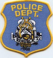 REPUBLIC WASHINGTON WA POLICE PATCH