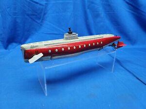Vintage Schuco Submarino Submarine Wind-Up Toy 3007 (No Key)