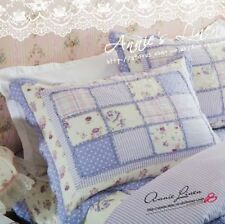 Annie Purple Patchwork King/Double Bed Throw/Blanket made with Cath Kidston Fab