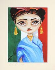 Mounted print of Frida Kahlo Gordon Bruce art