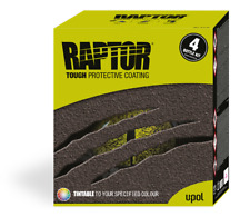 U-Pol Raptor Tough Coating VAUXHALL SAPPIRE BLACK Z20R  4 bottle kit