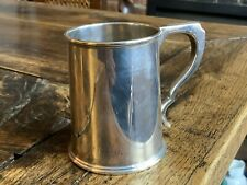 Lovely Solid Silver Tankard