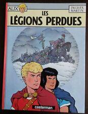 BD ALIX T6 LES LEGIONS PERDUES JACQUES MARTIN DL1965 REED° PORT A PRIX COUTANT