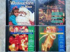 Weihnachtsmusik, diverse Interpreten, 4 CDs, Deutsche Weihnachtslieder