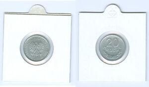 Pologne 20 Groszy Très Beau ( Choisissez Entre : 1949 - 1985)