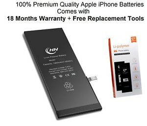 iPhone Replacement Battery For Apple iPhone 6 6s 6+ 6s+ 7 7 Plus 8 8Plus + Tools