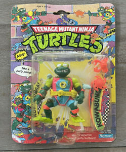 Tmnt 1990 Mike, The Sewer Surfer New Playmates Teenage Mutant Ninja Turtles