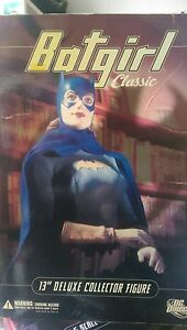"""Batgirl Classic 13"""" Deluxe Collector Figure DC Direct New, Never Displayed"""