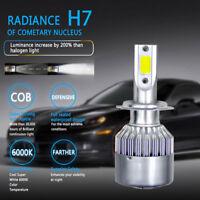 COB H7 1500W 225000LM LED Car C6 Headlight Conversion Bulb Beam 6000K 12/24V New