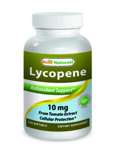 Best Naturals Lycopene 10mg 120 Softgels *Antioxidant Support*
