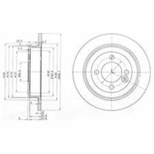 Brake Disc (2 Piece) - DELPHI bg3662c