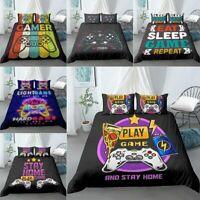 Modern Comforter Cover Video Game Duvet Cover Kids Bedding Set Gamer Bedding Set