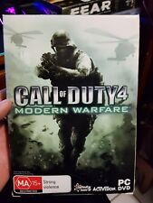 Call of Duty 4 - Modern Warfare -  PC GAME - FREE POST *