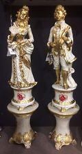 Lotto Statue Statuette Avoriolina 8 Statuetta Orientale Oriente Simile Avorio Arredamento D'antiquariato