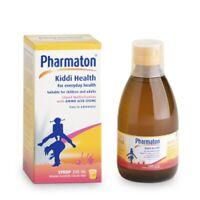 Pharmaton Kiddi Vitamin Syrup Kids Multivitamin syrup with Lysine &Calcium 100ml