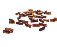 100% Natural Baltic Blood Red Amber loose beads Gemstone 20pcs