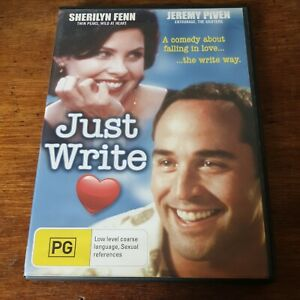 Just Write DVD R4 Like New! FREE POST Jeremy Piven