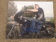 Charlie Hunnam Aurographed 8x10 Photo Son's Of Anarchy Pacific Rim