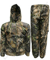 Men's Jungle Water Resistant Suit Bomber Jacket Trousers Coat Full Set S-2XL