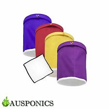 5 GALLON 4 PIECE SET BUBBLE BAGS/Filtration Kit For Herb And Oil Extraction