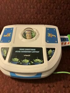 Vtech Toy Story 3 Buzz Lightyear Star Command Laptop Computer Disney Pixar