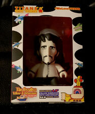 The Beatles 50th Annv, Yellow Submarine B&W George Titans Vinyl Figure New