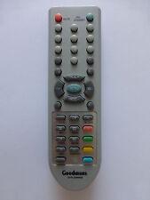 GOODMANS TV REMOTE CONTROL for GTVL26W8HD GTVL32W8HD SOME keys faded